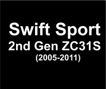 Swift SPORT 2nd Gen ZC31S (2005-2011)